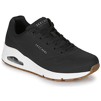 Παπούτσια Γυναίκα Χαμηλά Sneakers Skechers UNO STAND ON AIR Black