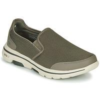 Παπούτσια Άνδρας Slip on Skechers GO WALK 5 Kaki
