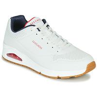 Παπούτσια Άνδρας Χαμηλά Sneakers Skechers UNO STAND ON AIR Άσπρο