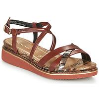 Παπούτσια Γυναίκα Σανδάλια / Πέδιλα Tamaris EDA Brown