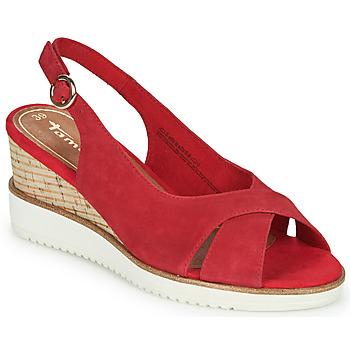 Παπούτσια Γυναίκα Σανδάλια / Πέδιλα Tamaris ALIS Red