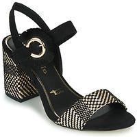 Παπούτσια Γυναίκα Σανδάλια / Πέδιλα Tamaris CALLIE Black