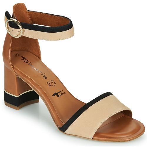 Παπούτσια Γυναίκα Σανδάλια / Πέδιλα Tamaris DALINA Cognac