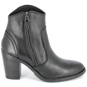 Παπούτσια Γυναίκα Μποτίνια Porronet Boots Acap Noir Black