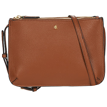 Τσάντες Γυναίκα Τσάντες ώμου Lauren Ralph Lauren MERRIMACK CARTER CROSSBODY-MEDIUM Cognac