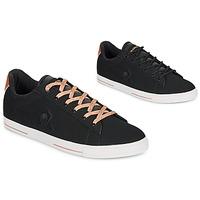 Παπούτσια Γυναίκα Χαμηλά Sneakers Le Coq Sportif AGATE METALLIC Black / Dore