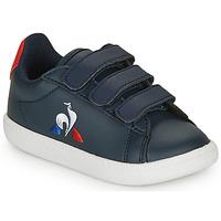 Παπούτσια Παιδί Χαμηλά Sneakers Le Coq Sportif COURTSET INF Marine / Red
