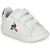 Παπούτσια Παιδί Χαμηλά Sneakers Le Coq Sportif COURTSET INF Άσπρο