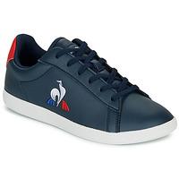 Παπούτσια Παιδί Χαμηλά Sneakers Le Coq Sportif COURTSET GS Marine / Red