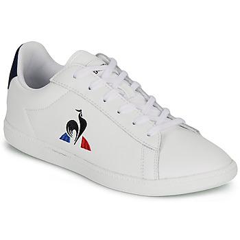 Παπούτσια Παιδί Χαμηλά Sneakers Le Coq Sportif COURTSET GS Άσπρο
