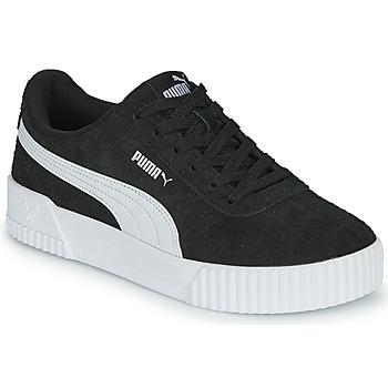 Παπούτσια Γυναίκα Χαμηλά Sneakers Puma CARINA Black