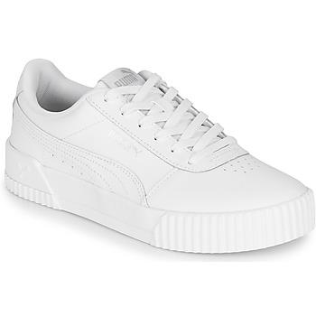Παπούτσια Γυναίκα Χαμηλά Sneakers Puma CARINA Άσπρο