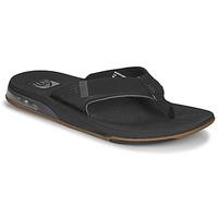 Παπούτσια Άνδρας Σαγιονάρες Reef FANNING LOW Black