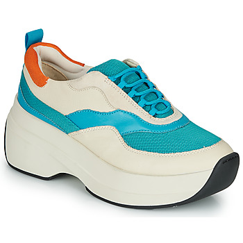 Παπούτσια Γυναίκα Χαμηλά Sneakers Vagabond SPRINT 2.0 Beige / Μπλέ