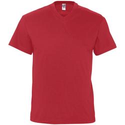 Υφασμάτινα Άνδρας T-shirt με κοντά μανίκια Sols VICTORY COLORS Rojo