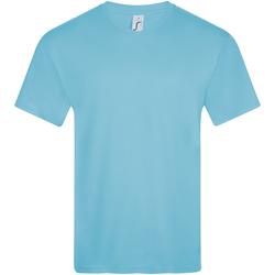 Υφασμάτινα Άνδρας T-shirt με κοντά μανίκια Sols VICTORY COLORS Azul