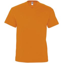 Υφασμάτινα Άνδρας T-shirt με κοντά μανίκια Sols VICTORY COLORS Naranja