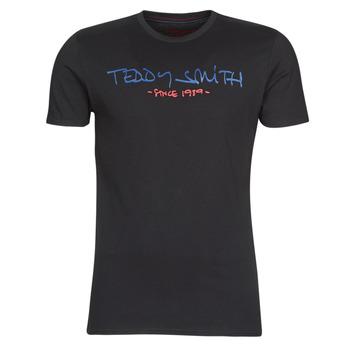 Υφασμάτινα Άνδρας T-shirt με κοντά μανίκια Teddy Smith TICLASS Black