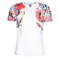 Υφασμάτινα Άνδρας T-shirt με κοντά μανίκια Desigual LIAN Multicolour