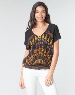 Υφασμάτινα Γυναίκα Μπλούζες Desigual NAPOLES Multicolour
