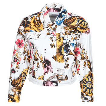 Υφασμάτινα Γυναίκα Τζιν Μπουφάν/Jacket  Desigual FANTASY Multicolour