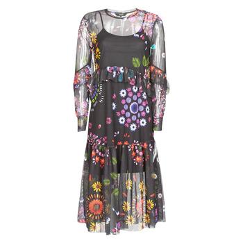 Υφασμάτινα Γυναίκα Μακριά Φορέματα Desigual PORTLAND Multicolore