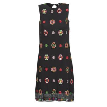 Υφασμάτινα Γυναίκα Κοντά Φορέματα Desigual TRESOR Multicolour