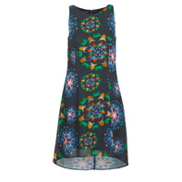 Υφασμάτινα Γυναίκα Κοντά Φορέματα Desigual CLAIR Multicolour