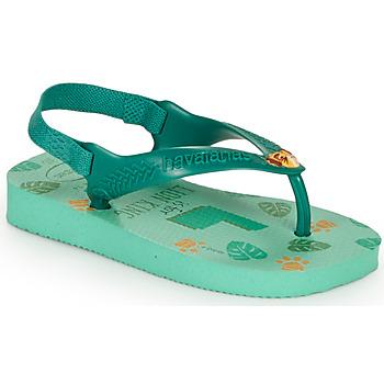 Παπούτσια Παιδί Σαγιονάρες Havaianas BABY DISNEY CLASSICS II Πρασινο