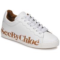 Παπούτσια Γυναίκα Χαμηλά Sneakers See by Chloé SB33125A Άσπρο