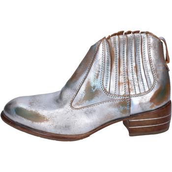 Παπούτσια Γυναίκα Μπότες Moma Μπότες αστραγάλου BR919 Ασήμι