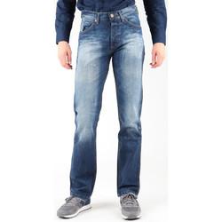 Υφασμάτινα Άνδρας Τζιν σε ίσια γραμμή Wrangler Ace W14RD421X blue