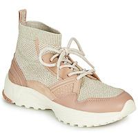Παπούτσια Γυναίκα Ψηλά Sneakers Coach C245 RUNNER Ροζ / Nude / Silver