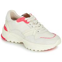 Παπούτσια Γυναίκα Χαμηλά Sneakers Coach C143 RUNNER Άσπρο / Ροζ