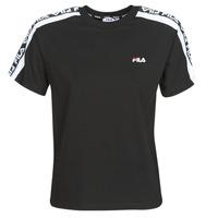 Υφασμάτινα Γυναίκα T-shirt με κοντά μανίκια Fila TANDY Black