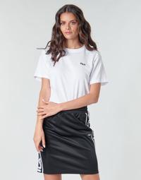 Υφασμάτινα Γυναίκα T-shirt με κοντά μανίκια Fila EARA Άσπρο
