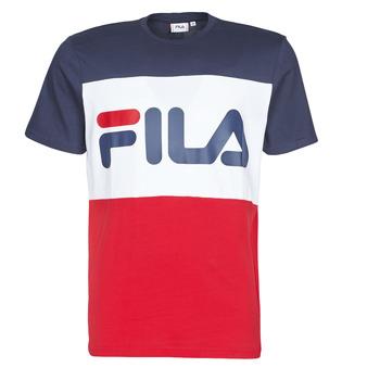 Υφασμάτινα Άνδρας T-shirt με κοντά μανίκια Fila DAY Marine / Red / Άσπρο