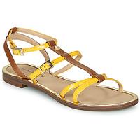 Παπούτσια Γυναίκα Σανδάλια / Πέδιλα JB Martin 1GRIOTTES Yellow / Brown