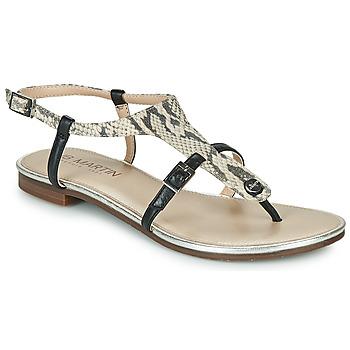 Παπούτσια Γυναίκα Σανδάλια / Πέδιλα JB Martin 2GAELIA Black / Beige