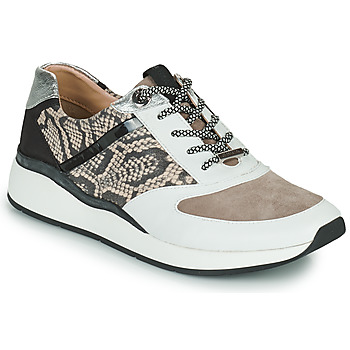 Παπούτσια Γυναίκα Χαμηλά Sneakers JB Martin 1KALIO Άσπρο / Beige / Black