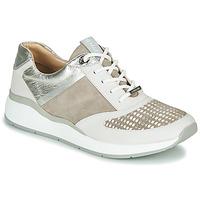 Παπούτσια Γυναίκα Χαμηλά Sneakers JB Martin 1KALIO Beige / Άσπρο / Silver