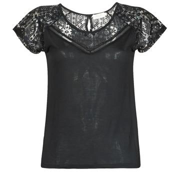 T-shirt με κοντά μανίκια Deeluxe CLEA Σύνθεση: Viscose / Lyocell / Modal,Βισκόζη