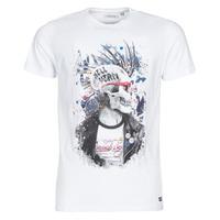 Υφασμάτινα Άνδρας T-shirt με κοντά μανίκια Deeluxe ENFIELDON Άσπρο