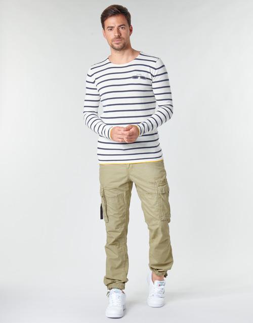 Υφασμάτινα Άνδρας παντελόνι παραλλαγής Deeluxe TROPERY Kaki