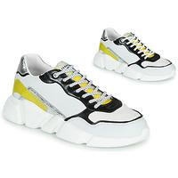 Παπούτσια Γυναίκα Χαμηλά Sneakers Serafini OREGON Άσπρο / Black / Yellow