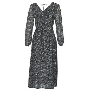 Υφασμάτινα Γυναίκα Μακριά Φορέματα Ikks BQ30085-03 Black