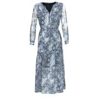 Υφασμάτινα Γυναίκα Μακριά Φορέματα Ikks BQ30285-45 Μπλέ