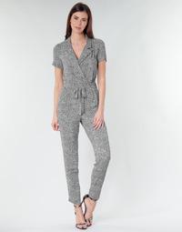 Υφασμάτινα Γυναίκα Ολόσωμες φόρμες / σαλοπέτες Ikks BQ32045-03 Black / Άσπρο