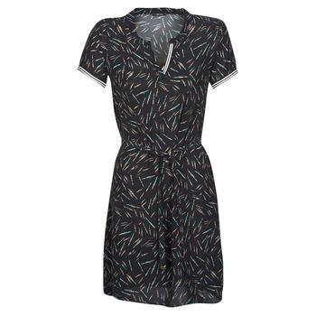 Υφασμάτινα Γυναίκα Κοντά Φορέματα One Step ROSA Black
