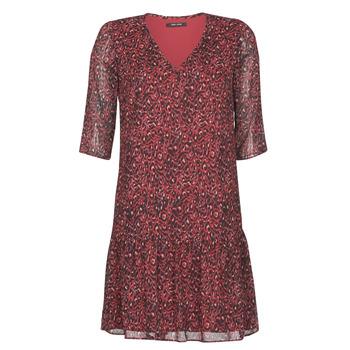 Υφασμάτινα Γυναίκα Κοντά Φορέματα One Step RINDA Bordeaux